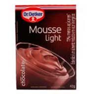 Mousse Dr. Oetker Chocolate Light 42g