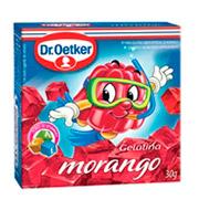 Gelatina Droetker Morango