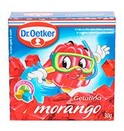 Gelatina Dr.oetker Morango 30g Caixinha