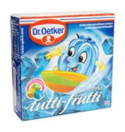 Gelatina Dr.oetker Tutti Frutti 30g Caixinha
