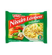 Macarrão Instantaneo Nissin Legumes 85g Pacot