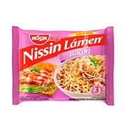 Macarrão Instantaneo Nissin Bacon 85g Pacote