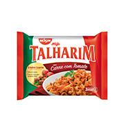 Macarrão Nissin Talharim Tomate/carne 99g Pac