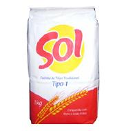 Farinha de Trigo Especial Sol 1kg