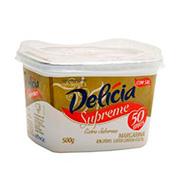 Margarina Delicia Supreme 500g S/sal Pote