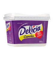 Margarina Delícia Canola Com Sal 500g