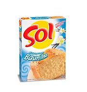 Mistura Bolo Sol 450g Baunilha Caixa