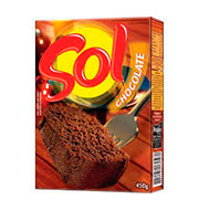 Mistura Bolo Sol 450g Chocolate Caixa