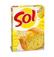 Mistura P/bolo Sol 450g Fuba Caixa