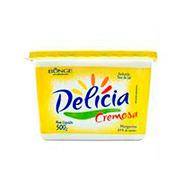 Margarina Delicia 500g S/sal Pote