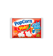 Popcorn Microondas Yoki Mini Bag Natural C/sa