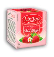 Cha Lin Tea Morango 20g  Caixa