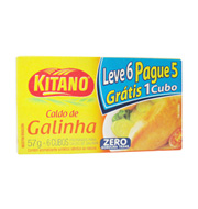 Caldo Kitano Galinha 0% Gorduta Trans 57g Lev