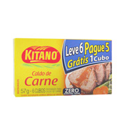 Caldo De Carne Kitano 0% Gordura Trans 57g Le