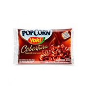 Popcorn Microondas Yoki 160g Chocolate Pacote