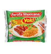 Farofa Yoki Mexicana 250g Pacote