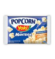 Milho para Pipoca Yoki Microondas Manteiga 10