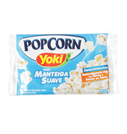 Milho para Pipoca Yoki Microondas Manteiga Su