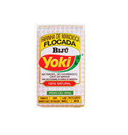 Farinha De Mandioca Flocada Biju Yoki 500g Pa