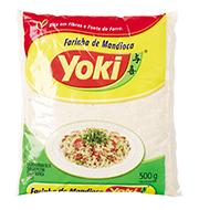 Farinha de Mandioca Crua Yoki Pacote 500g
