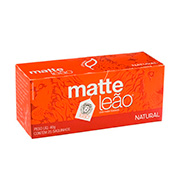 Cha Matte Leao Natural 40g  Caixa