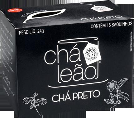 Chá Preto Matte Leão 15 Sachês 24g