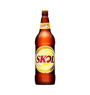 Cerveja Skol 1lt Litrao Garrafa De Vidro