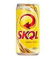 Cerveja Skol Lata 269ml