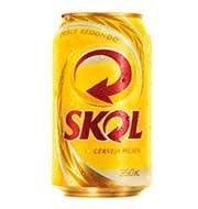 Cerveja Skol Pilsen Lata 350 ml