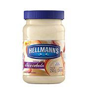 Maionese Hellmanns 250g Cebola E Alho Pote