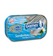 Sardinha Gomes Da Costa Com óleo 125g