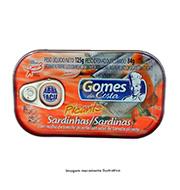 Sardinha Gomes Da Costa 125g Tomate Picante L