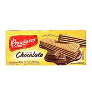 Biscoito Wafer Bauducco chocolate 165g