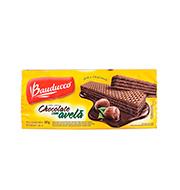 Biscoito Wafer Bauducco 165g Choc/avela