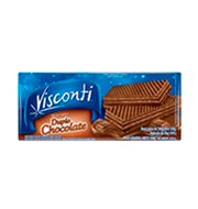 Biscoito Wafer Visconti 120g Choc/chocolate
