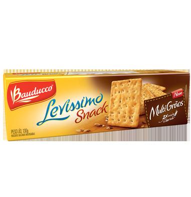 Biscoito Levíssimo Snack Multi Grãos Bauducco