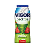 Iogurte Vigor Lactive 180g Morango