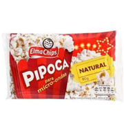Pipoca Microondas Elma Chips Natural 80g