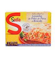 Lasanha Sadia 650g Peru E Brocolis Caixa
