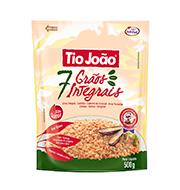 Arroz Tio Joao 500gr 7 Graos Integral Pacote
