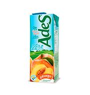 Bebida De Soja Ades Pêssego Zero 1l