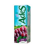 Bebida De Soja Ades Uva Zero 1l