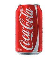 Refrigerante Coca-Cola 350ml lata