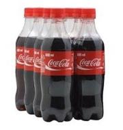 Refrigerante Coca-Cola Garrafa 600ml (6 unidades)