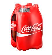 Coca-Cola Garrafa Pet 1,5L (4 Unidades)