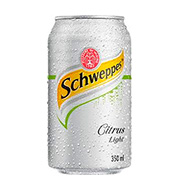 Refrigerante Schweppes Citrus Light 350ml Lat