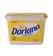 Margarina Doriana Cremosa S/sal 500g Pote
