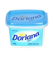 Margarina Doriana Light S/sal 500g Pote