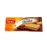 Biscoito Marilan Wafer Chocolate 140g Pacote