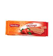 Biscoito Marilan Wafer Morango 140g Pacote